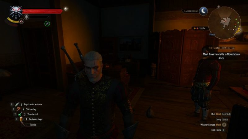 the witcher 3 - the man from cintra quest