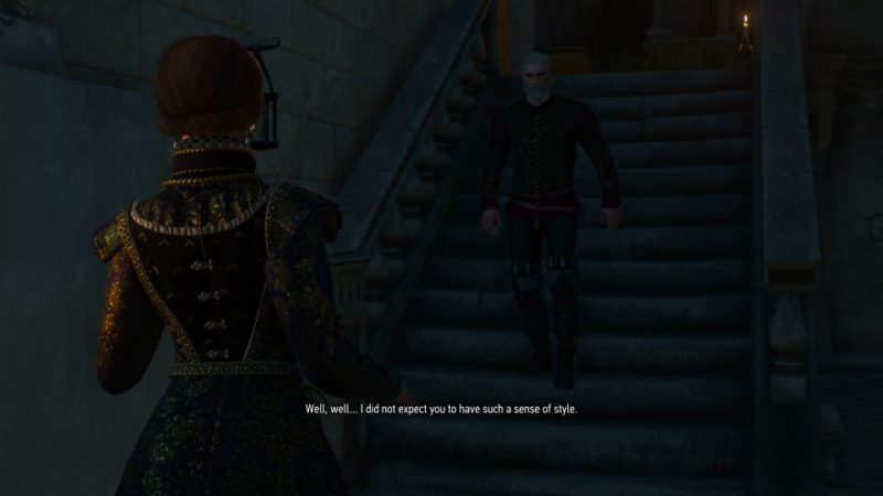 the witcher 3 - the man from cintra quest walkthrough
