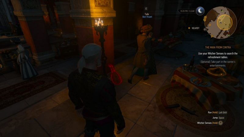 the witcher 3 - the man from cintra tips