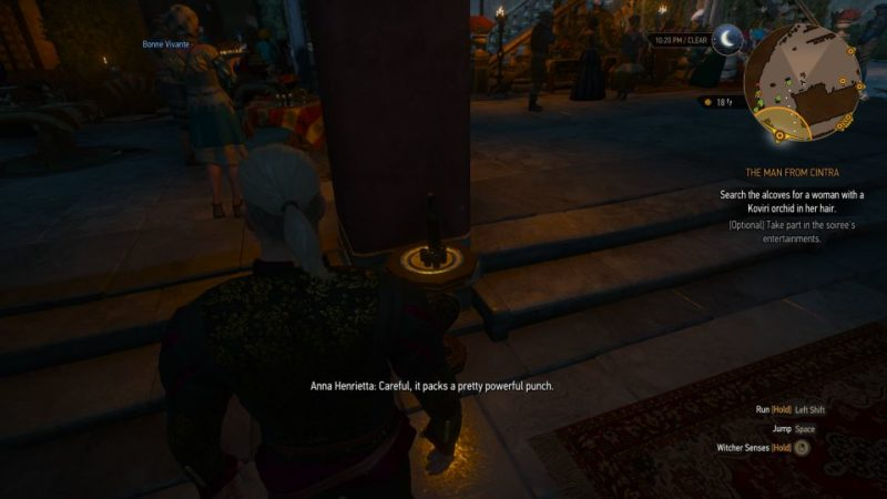 the witcher 3 - the man from cintra walkthrough