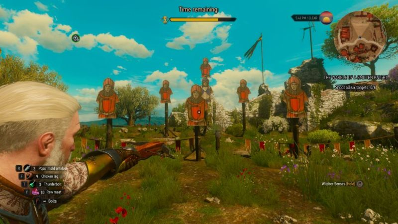 the witcher 3 - the warble of a smitten knight wiki