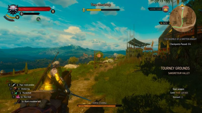 the witcher 3 - the warble of a smitten knight wiki and guide