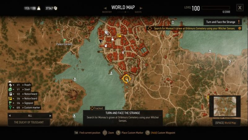 the witcher 3 - turn and face the strange guide