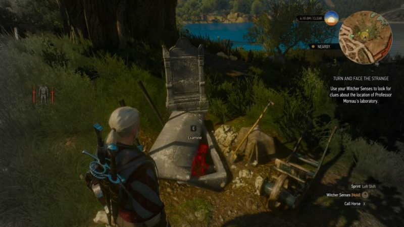 the witcher 3 - turn and face the strange which portal