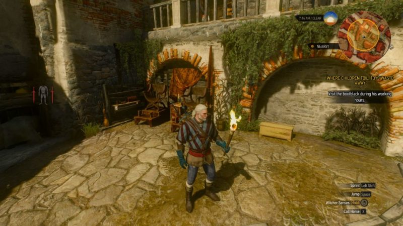 the witcher 3 - where children toil, toys waste away quest