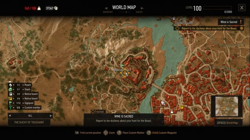 the witcher 3 - wine is sacred guide