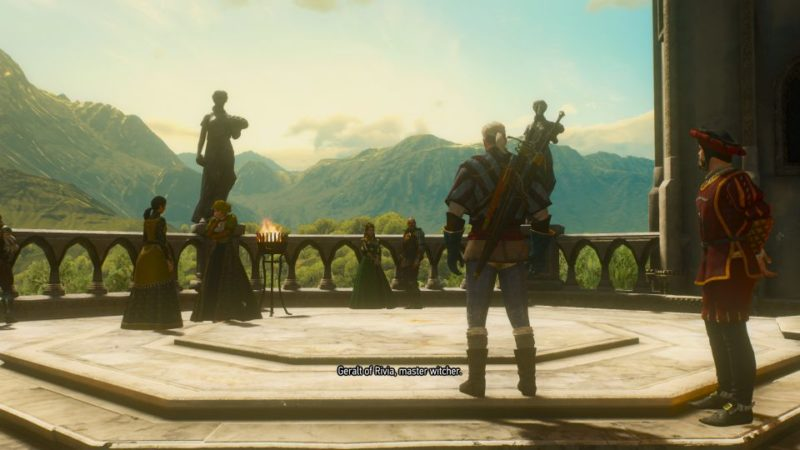 the witcher 3 - wine is sacred quest
