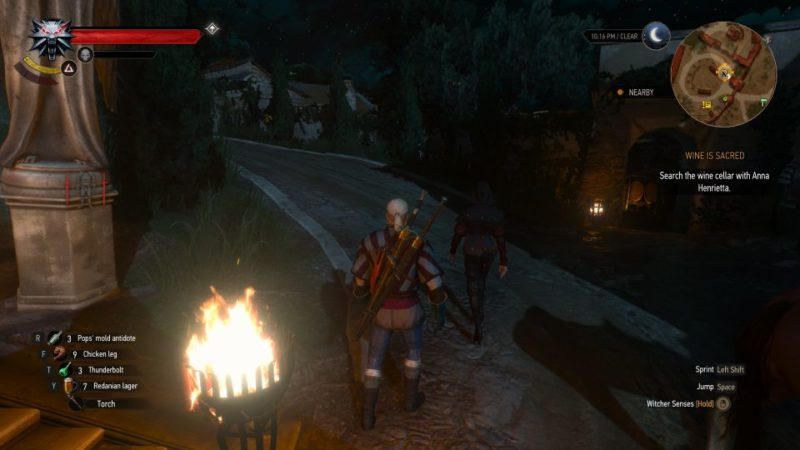 the witcher 3 - wine is sacred wiki