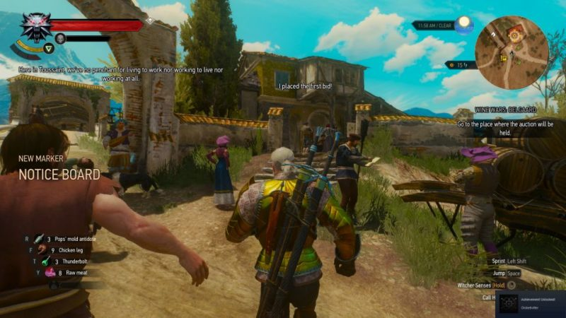 the witcher 3 - wine wars belgaard quest