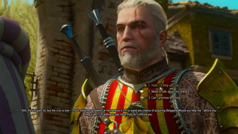 the witcher 3 - wine wars belgaard quest guide