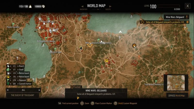the witcher 3 - wine wars belgaard quest walkthrough