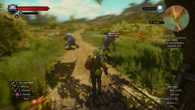 the witcher 3 - wine wars consorting quest guide