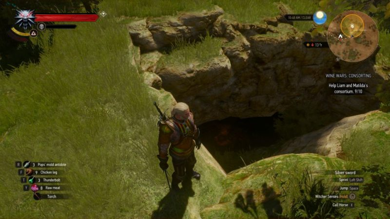 the witcher 3 - wine wars consorting quest walkthrough