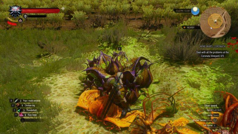 the witcher 3 - wine wars coronata quest walkthrough