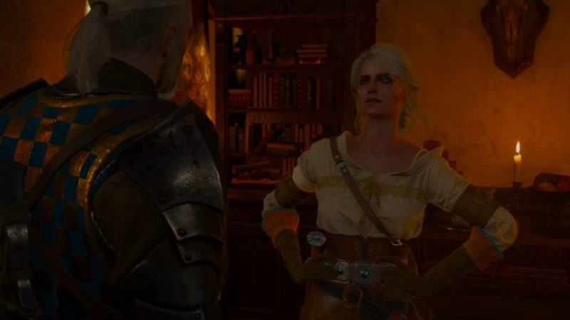 witcher 3 - blood and wine ciri ending
