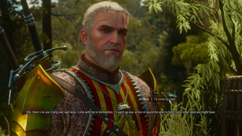witcher 3 - wine wars vermentino quest guide