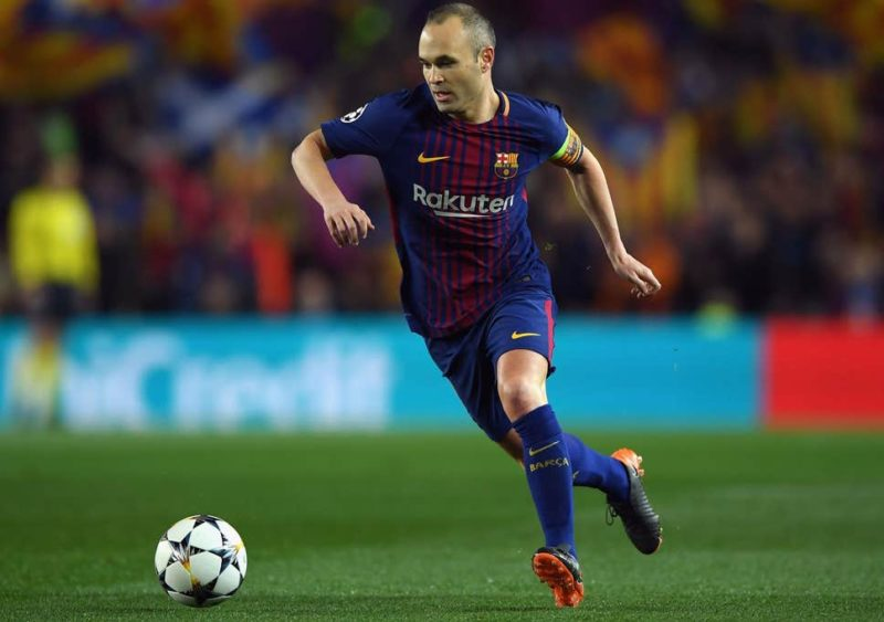 andres iniesta - richest football players