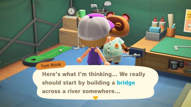 animal crossing new horizons bridge