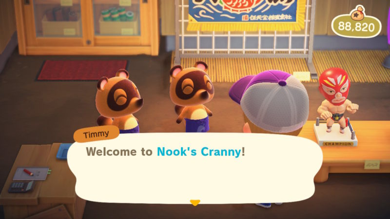 animal crossing new horizons how to build shop