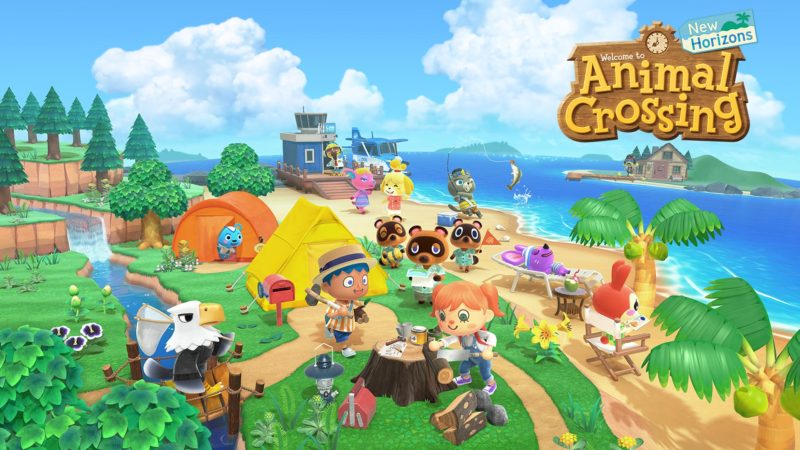 animal crossing new horizons launches