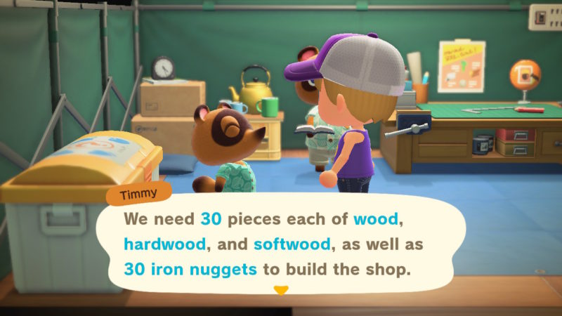 animal crossing new horizons nook shop
