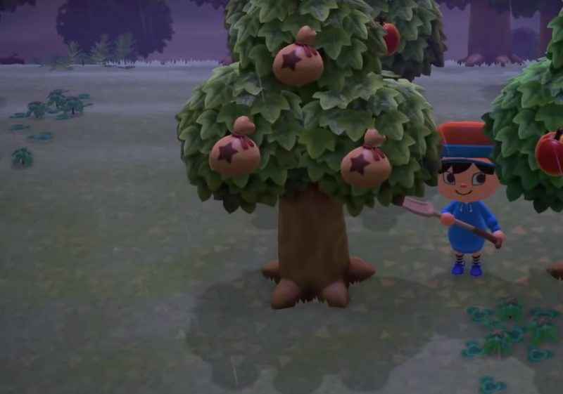 bell tree animal crossing new horizons