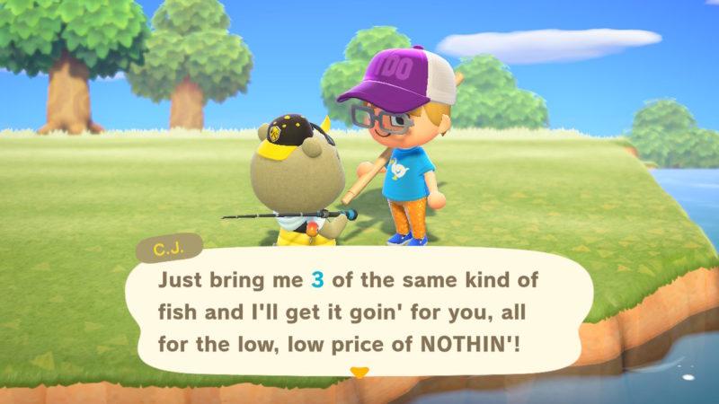 cj model fish