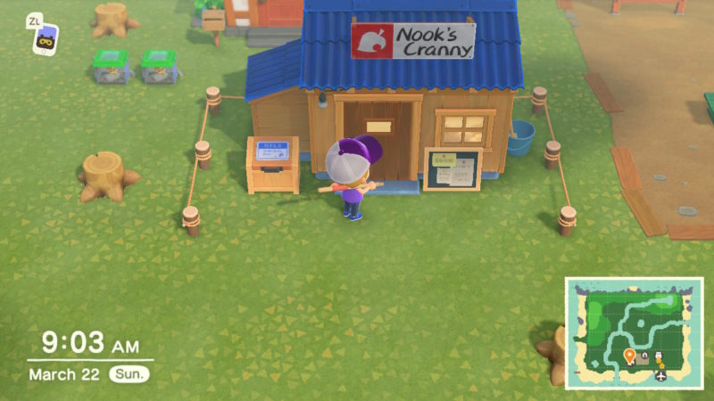 how to build nook's cranny - animal crossing new horizons