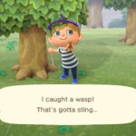 how to deal with bees in animal crossing new horizons