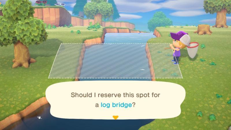 how to get bridge acnh