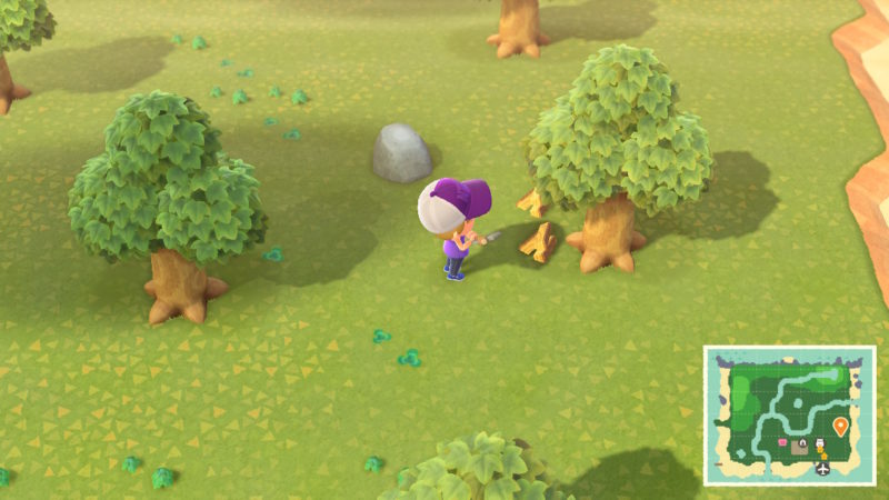 how to get softwood - animal crossing new horizons