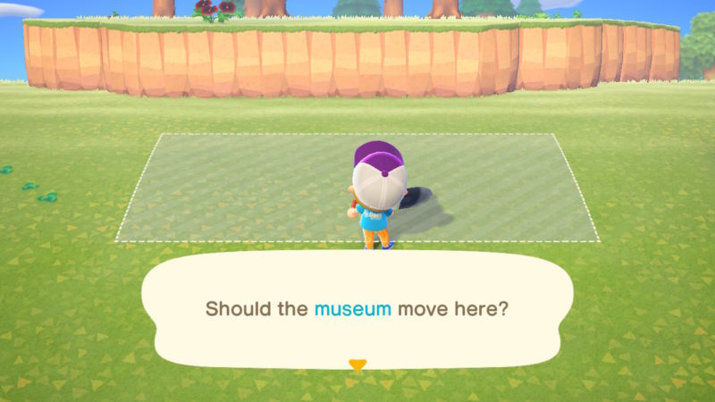 how to move buildings - animal crossing new horizons