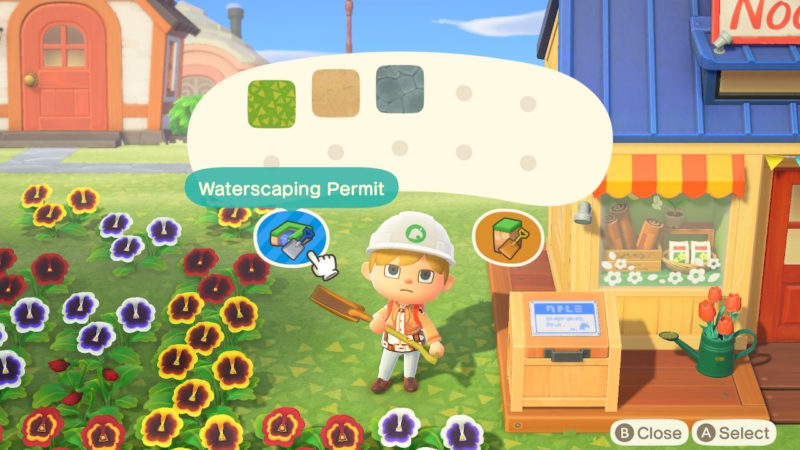 animal crossing new horizons - how to change shape of island