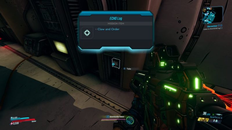 borderlands 3 - claw and order mission