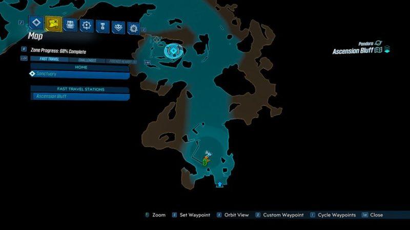 borderlands 3 - revenge of the cartels - ultraviolet night quest