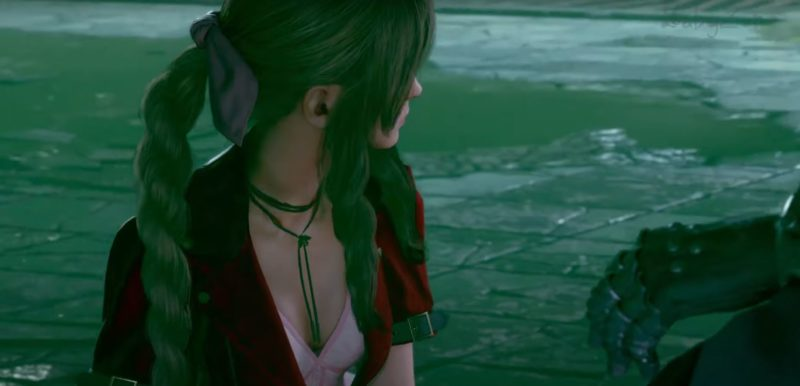 choose aerith in sewers ff7 remake