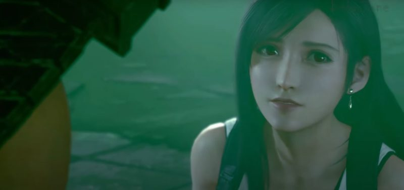 choose tifa sewers ff7 remake