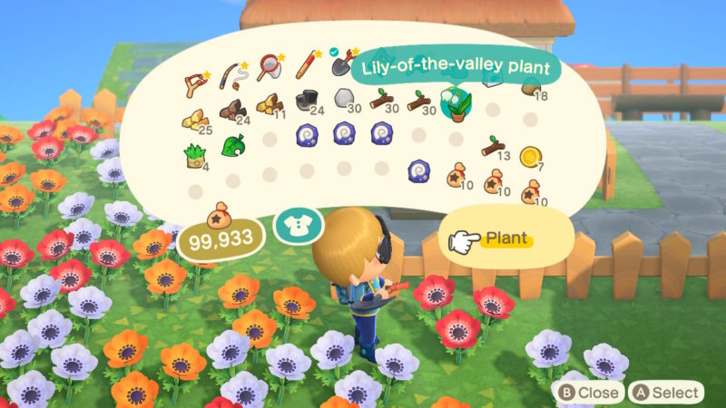 how to get lily of the valley - acnh