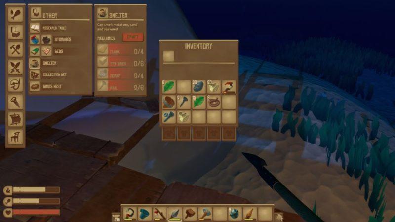 how to make metal ingots - raft