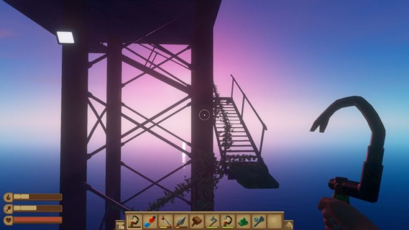 raft - oil rig how to get to the top