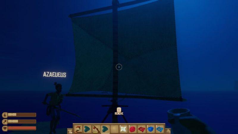 raft wiki - how to reach island