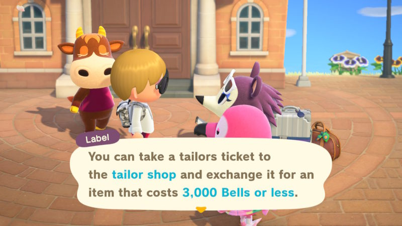 when will label come - animal crossing new horizons