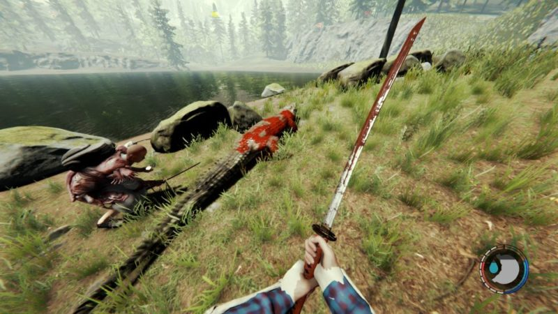 crocodile location - the forest