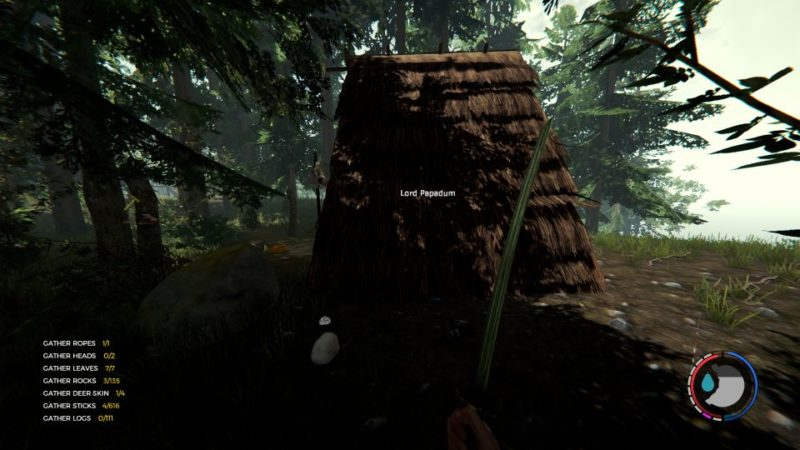 how to find the map - the forest