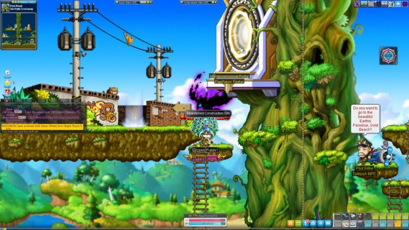 how to go different worlds - maplestory
