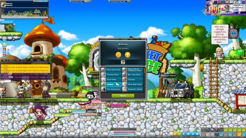 how to teleport to any world for free - maplesea