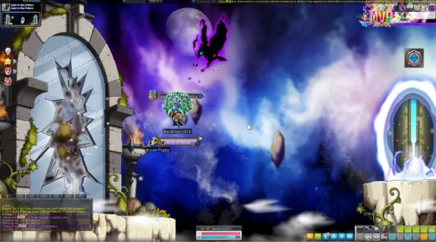 maplesea - how to go gate to the future