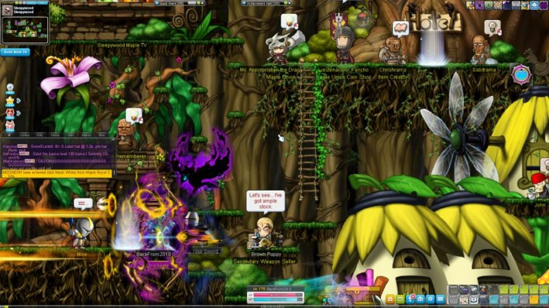 maplestory - how to get free teleport