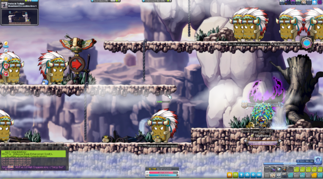MapleStory: Best Training Areas From Level 1 - 200