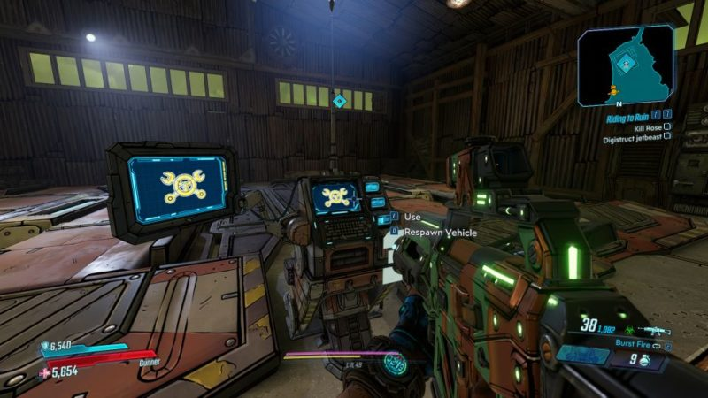borderlands 3 - riding to ruin wiki